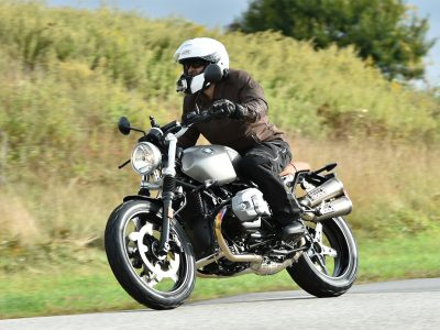 Putting the Scrambler through its paces