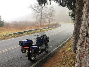 A foggy ride on Route 106 - NY - December 12, 2020