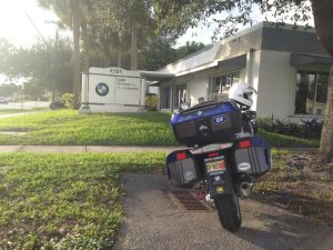 NJ to Florida in one shot – made it! First stop, of course, is to get the dealer T-Shirt.