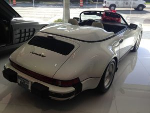 Classic, air-cooled 911 Speedster..