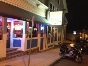 The famous Mystic Pizza in Mystic, CT.