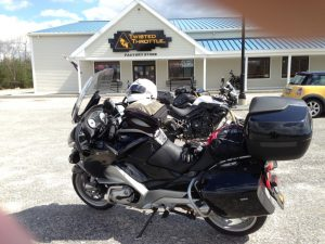 Twisted Throttle in RI. One of the coolest motorcycle shops anywhere.