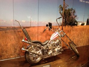 The Captain America bike from Easy Rider