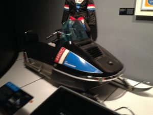 Harley made snowmobiles? Yep. The AMF days were strange indeed…..