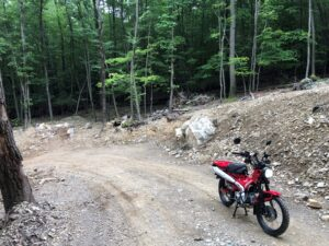 Getting lost on purpose on my new 2021 Honda Trail 125. 8-7-21