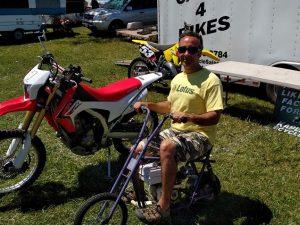 Briggs & Stratton powered mini-bike!