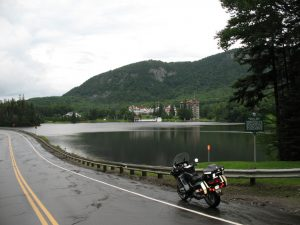Dixville Notch, NH, only 20 miles or so from Canada!