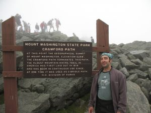 Crawford Path, the oldest hiking trail in America (laid out in 1819)…