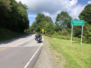 Crossing into TN