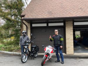 My brother and I heading out for a two-stroke rip - 4-10-21