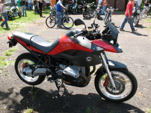 The unique MachineArtMoto GS at the Bikes & Bluegrass Festival in Frenchtown, NJ – May 8, 2010