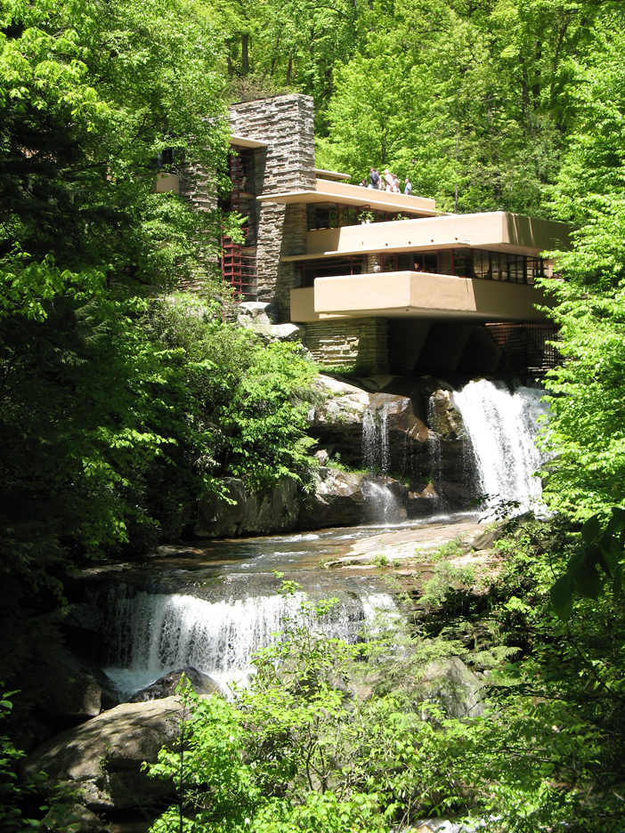 Fallingwater in full view – absolutely amazing!