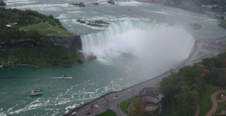 View of the Falls from the Skylon Tower elevator