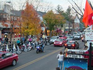Ending at New Hope, PA for some chow – what a hoppin' little town!