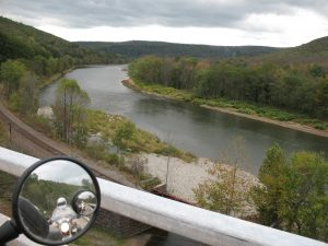 View of the river en route home from Roscoe, NY.