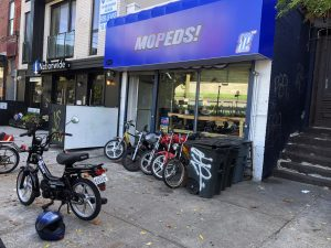 From NJ to Second Stroke Mopeds in Brooklyn, NY via the Tomos Flexer