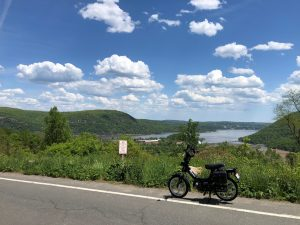 Tomos Flexer overlooking the Henry Hudson River 5-15-21