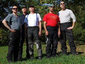 The group – Matt, Jim, Klaus, MKL, and Roy